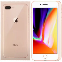 New Apple Iphone 8 Plus 128gb A1897 Gold Factory Unlocked 4g/lte Boxed Gsm