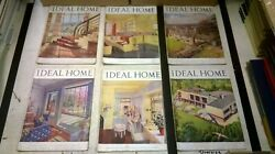 The Ideal Home And Gardening Magazine Complete 12 Issue Set Jan-dec 1946