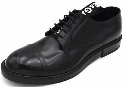 Dolce And Gabbana Man Dress Shoes Business Derby Francesina Classic Code A10424