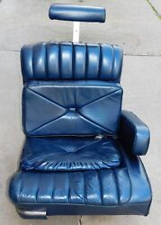 1978 1979 Lincoln Continental Town Car Oem Passenger Seat - Blue Pick-up Only