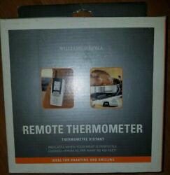 Williams Sonoma Remote Thermometer 150 Feet Wireless Oven Roasting Or Grill Bbq