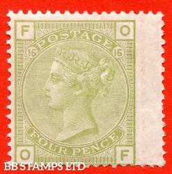 Sg. 153. J64. Of . 4d Sage - Green. Plate 15. A Fine Unmounted Mint Ex B46859