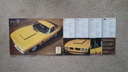 Iso Sports Cars ...........original Sales Catalogue In Good Condition For Age