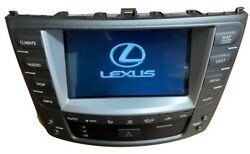 06 07 08 09 Lexus IS 250 350 F Navigation GPS Nav TOUCH-SCREEN RADIO A/C CLIMATE
