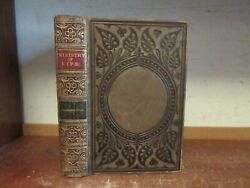 Old Ministry Of Life Book 1860 Charlesworth Fine Leather Binding Childrens Story