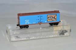 N Scale Micro-trains 47340 Pepsi-cola 40and039 Double-sheathed Wood Reefer Pcex 4702