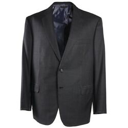 Nwt 6400 Brioni And039colosseoand039 Dark Gray Micro Patterned Wool-silk Suit Us 48 R