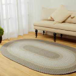 Indoor/outdoor Rug Kitchen Patio Pc62 Frosty Multi Braided Rug