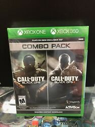 Call Of Duty Black Ops 1 And 2 Combo Pack Xbox 360 / Xbox One Brand New.