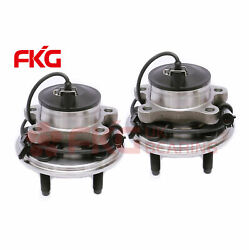 Pair 2 New Front Wheel Hub And Bearing 2wd W/abs For Jaguar S-type Xf Xjr 513169