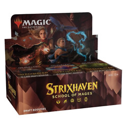 Magic The Gathering Strixhaven School Of Mages Draft Booster Box - In Stock