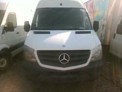 Back Door Mercedes Sprinter 25 Right 14rhwhite Ext3drbig Dent Right Side