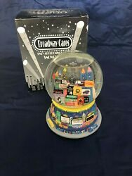 2000 Bloomingdales Broadway Cares New York Times Square Twin Towers Snow Globe