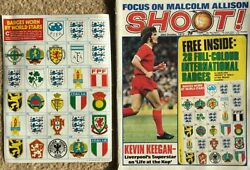 1972 Badges England Ireland Italy Russia Scotland Argentina Germany Wales SHOOT