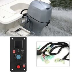 Single Engine Brp Ignition Cut Off Switch With Keys Fit For Honda Outboard