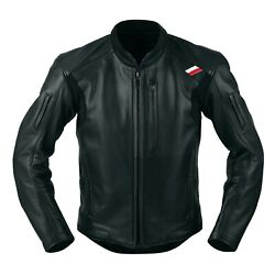 Kushitani Genuine Oem Script Jacket K-0681z Black Motorcycle Riding Wear