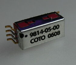 Lot Of 25 Coto Technology 9814-05-00 0622 Smd Reed Relay 1 Form A 5 Vdc Mag