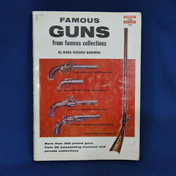 Vintage Famous Guns From Famous Collections 331 C 1957