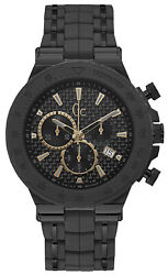 Watch Man Gc Watches Structura Y35006g2 Of Stainless Steel - Black