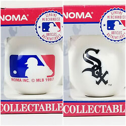 Vintage 1997 Chicago White Sox Mlb Noma Collectables Christmas Tree Ornament