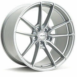 20 Velgen Vf5 Silver 20x10 20x11 Forged Concave Wheels Rims Fits Ford Mustang