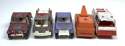 Tootsie Toy Lot - Antique Cars Trucks Vintage Toy Cars Trucks Lot Of 5 1 Unbrand