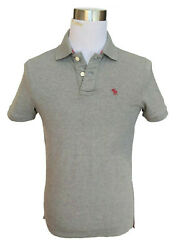 Abercrombie And Fitch Menand039s Bradley Pond Moose Pique Polo Shirt - Free 0 Ship