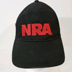 NRA Stand And Fight Embroidered Adjustable Strapback Truckers Cap Hat NWT