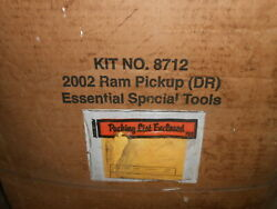 Nos Miller 8712 Essential Special Tools 2002 Ram Dr Trucks 3.3l And 4.7l Ft Axle