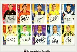 2009-10 Select A League Soccer Trading Card Complete Master Collection