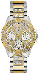 Uhr Frau Guess Watches Ladies Lady Frontier W1156l5 Stahl Edelstahl Dorade