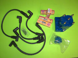 Mercruiser 3.0 Tune Up Kit 4 Cyl. Delco Est Wires Cap Rotor Spark Plugs 3.0l