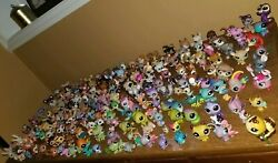 HASBRO Littlest Pet Shop Pets LPS Lot of 200 Dogs Cats and More!
