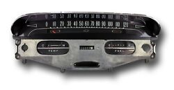 1958 Chevrolet Odometer Cluster Restored And 58 Chevy Parts Catalog