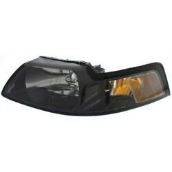 Headlight Lamp Left Hand Side Driver Lh Coupe For Mustang Fo2502177 3r3z13008da