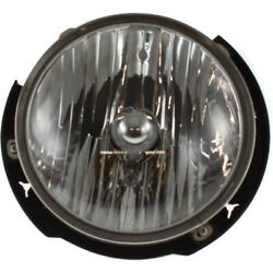 Headlight Lamp Left Hand Side Driver Lh Ch2502175 55078149ad For Jeep Wrangler