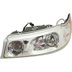 1w1z13008ca Fo2502158 Headlight Lamp Left Hand Side Driver Lh For Town Car 98-02