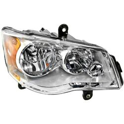 Headlight Lamp Right Hand Side For Town And Country Passenger Rh Ch2503192 Dodge