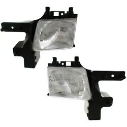 Ch2502118 Ch2503118 Headlight Lamp Left-and-right For Ram Van Lh And Rh 1500 3500