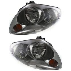 Hid Headlight Lamp Left-and-right Hid/xenon Sedan Lh And Rh In2503120 In2502120