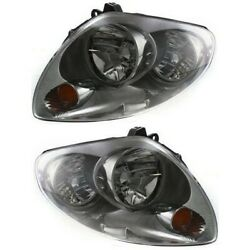 Hid Headlight Lamp Left-and-right Hid/xenon Sedan Lh And Rh In2503120, In2502120