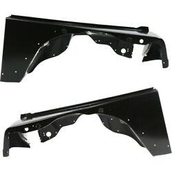 Fenders Set Of 2 Front Left-and-right Lh And Rh For Jeep Ch1241225, Ch1240225 Pair