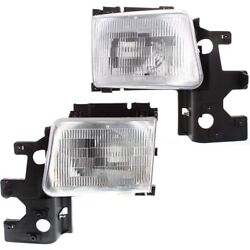 Ch2503115 Ch2502115 Headlight Lamp Left-and-right For Ram Van Lh And Rh B250 B350