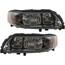 Headlight Lamp Left-and-right Lh And Rh Vo2503120, Vo2502120 312768070, 312768088