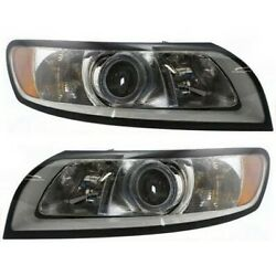 Headlight Lamp Left-and-right Lh And Rh Vo2503125 Vo2502125 312657067 312657075