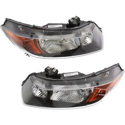Ho2518111, Ho2519111 Headlight Lamp Left-and-right Coupe Lh And Rh For Honda Civic