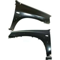 Ma1240145 Ma1241145 Fenders Set Of 2 Front Left-and-right Lh And Rh Pair
