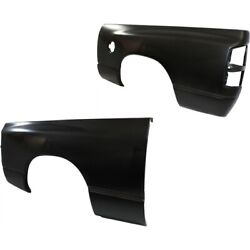 Ch1756110, Ch1757110 Set Of 2 Fenders Rear Left-and-right For Ram Truck Pair