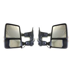Mirror For 2008-2010 Ford F-350 Super Duty Left And Right Set Of 2