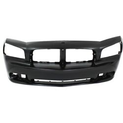 4854674aa Ch1000464 Bumper Cover Front For Dodge Charger 2006-2010